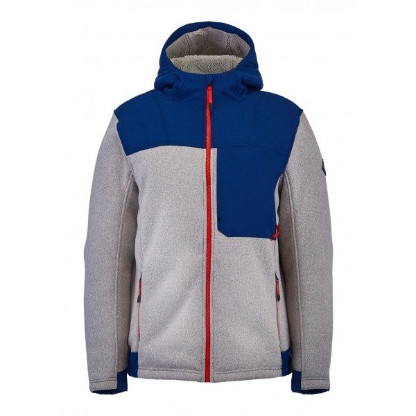 Spyder Men's Alps Full Zip Hoodie Fleece Jacket