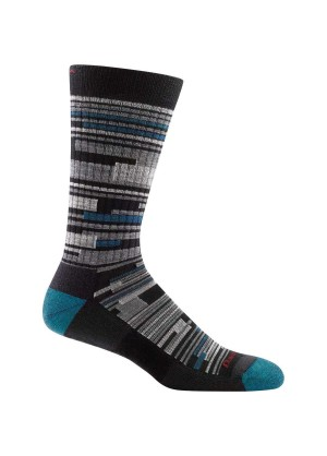Men's Darn Tough Urban Block Light Cushion Socks - Wintermen.com