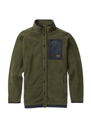 Burton Men's Hearth Snap-Up Fleece