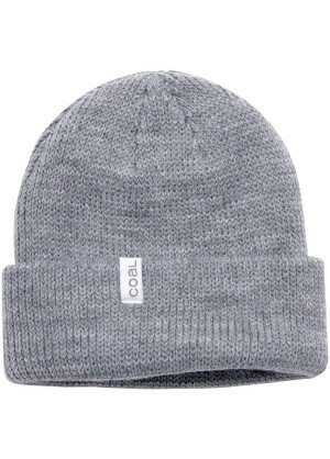 Coal The Frena Thick Knit Cuffed Slouch Beanie - Wintermen.com