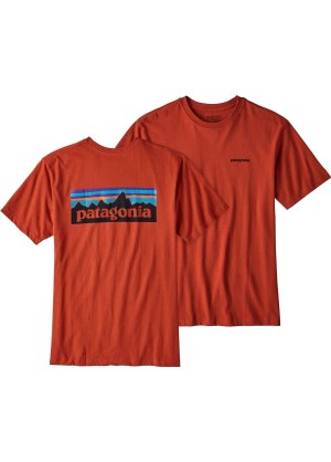 Patagonia Men's P-6 Logo Cotton T-Shirt - Wintermen.com