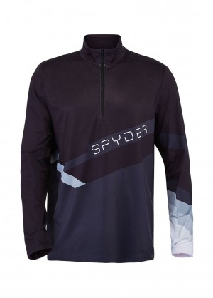Spyder Men's Mandate Zip T-Neck - WinterMen.com
