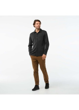 Men's Merino 250 Button Down Long Sleeve - Wintermen.com